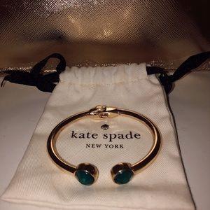 Kate Spade New York Green Gem Cuff